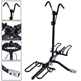 Apontus 2 Bike Carrier Platform Hitch Rack Bicycle Fold Steel Receiver 2″