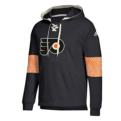 adidas Philadelphia Flyers NHL Men's Crossbar Vintage Jersey Sweatshirt ()