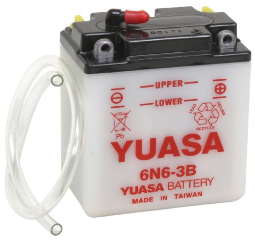 Yuasa YUAM2660B 6N6-3B Battery