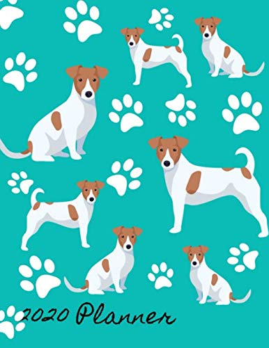 2020-Planner-2020-Weekly-Planner-Organizer-Dated-Calendar-And-ToDo-List-Tracker-Notebook-Jack-Russell-Terrier-Dog