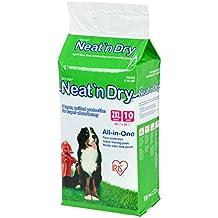 """IRIS Neat 'n Dry Premium Pet Training Pads, Jumbo, 38"""" x 38"""", 10 Count"""