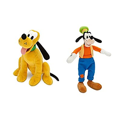 Disney Pluto and Goofy plush set.: Toys & Games