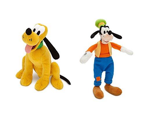 Disney Pluto and Goofy plush set.