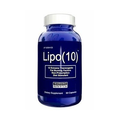 Lipo 10 au 60 Capsules Hardcore graisse thermogénique brûleur Pills Weight Loss Diet