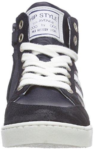 HIP H1832/162/0000 - Zapatillas altas Unisex Niños Azul - Blau (46SU / 46LE)