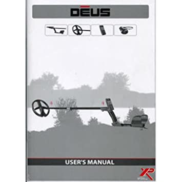 La XP Deus Metal detector de Manual de instrucciones versión 3.0 d-manual: Amazon.es: Jardín