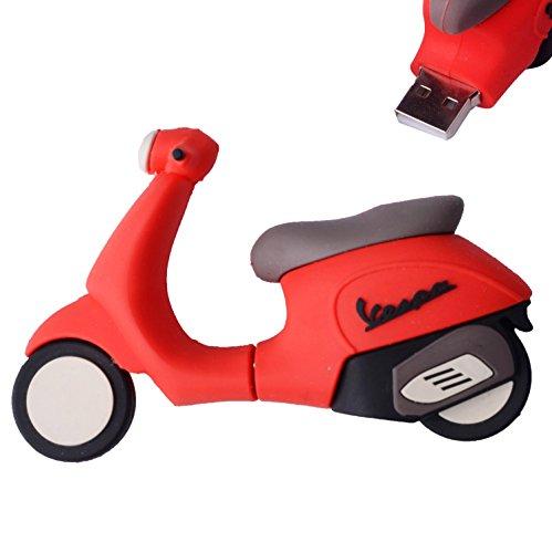 LHN® 8GB Scooter USB 2.0 Flash Drive
