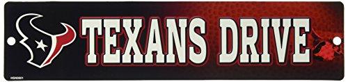 NFL Houston Texans High-Res Plastic Street Sign