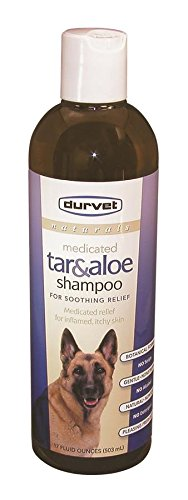 Durvet Naturals Tar and Aloe Shampoo, 17-Ounce