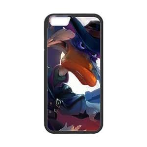 Darkwing iPhone 6 4.7 pulgadas del teléfono celular Amplia Pato funda Negro caja del teléfono celular Funda Cubierta EEECBCAAB00676