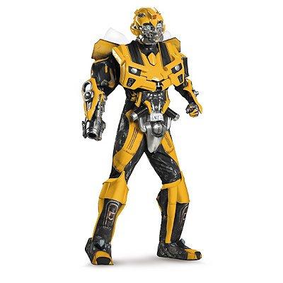 Transformers Bumblebee Mens Theatrical Costume (Halloween Costumes Spirit Store)