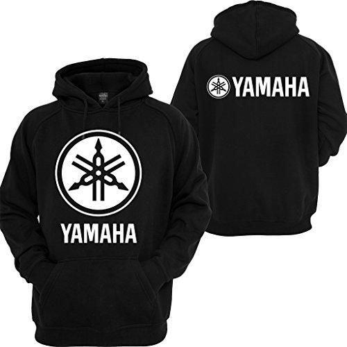 Yamaha Racing Hoodie Motocross YZF R1 R6 YFZ Motorcycles Honda Yamaha Sweatshirt Black