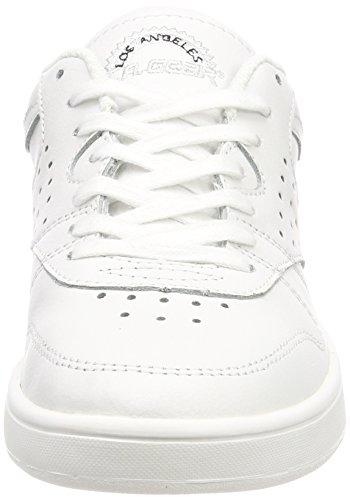 Zapatillas Lily L Para Soft Gear Leather Blanco a 03 Verginia wht Mujer OqwwTtE