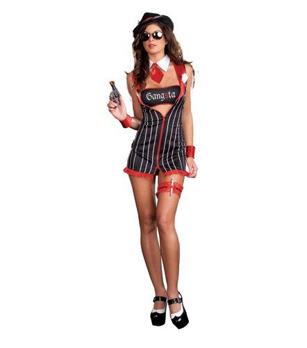 Sexy Gangsta Girl Costumes - Sexy Gangsta Girl Costume -