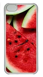 iPhone 6 plus 5.5 Case, Watermelon Pieces Lockscreen Case for iPhone 6 plus 5.5 PC Material Transparent WANGJING JINDA