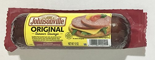 Original Sausage (12oz Johnsonville Original Summer Sausage, Pack of 2)