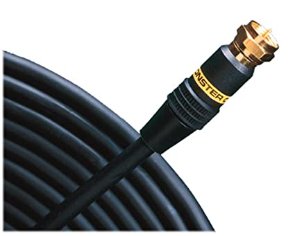 Monster Cable SV1F-1M Monster Standard Video Cable with F-pin Connectors (3.28