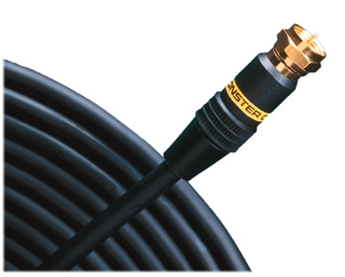 Monster Cable SV1F-1M Monster Standard Video Cable with F-pin Connectors (3.28 ft.) ()