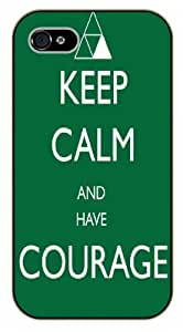 iPhone 6 have courage - black plastic case / Life quotes