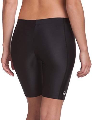 iQ-Company UV 300 Shorts Watersport - Pantalones cortos de natación para mujer Negro
