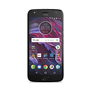 410S7p%2BBQWL. SS300  - Moto X (4th Generation) with Alexa Hands-Free - 32 GB - Unlocked - Super Black - Prime Exclusive