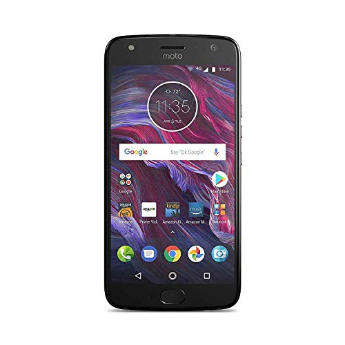 Moto X (4th Generation) - with Amazon Alexa hands-free – 32 GB - Unlocked – Super Black - Prime Exclusive
