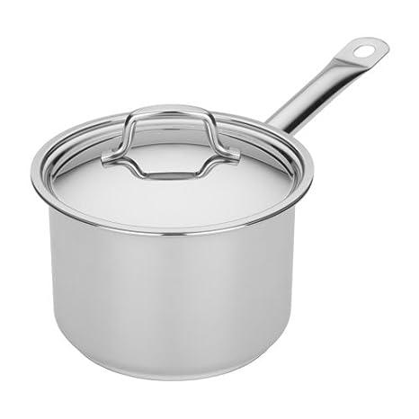 Amazon.com: Miu Francia Tri-Ply/aluminum Cazo con tapa (de ...