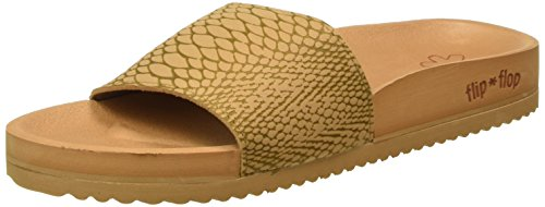 flip*flop Pool Lizard - Mules Mujer Marrón - Braun (Brown sugar 833)