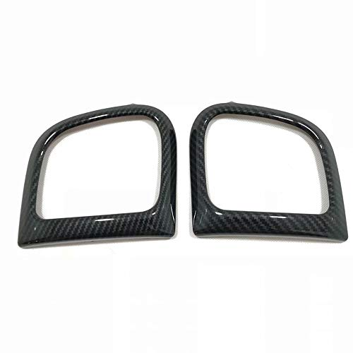 HIGH FLYING ABS Carbon Fiber Style Side A/C Air Vent Cover Trim for Jeep Grand Cherokee 2011-2018