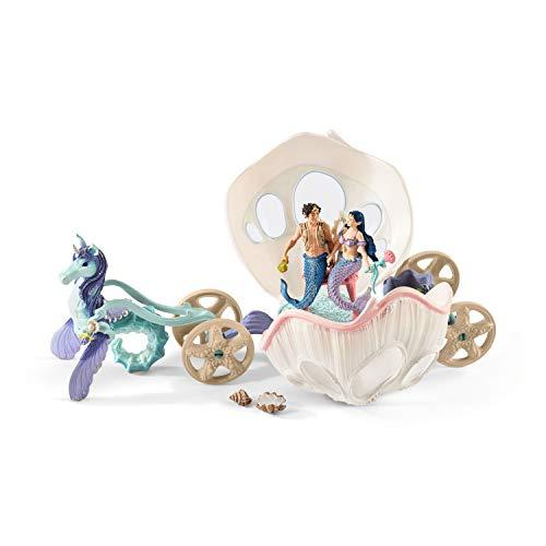 Schleich Bayala Mermaids: Royal Seashell Carriage Toy Figure