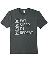 Eat Sleep DJ Repeat Graphic T-Shirt