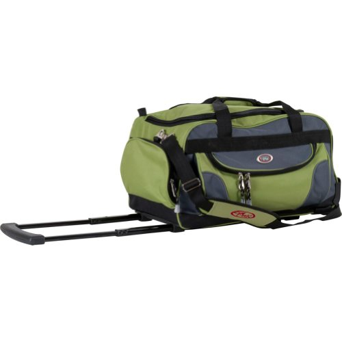 Soft Carry On (CalPak Champ Lime 21-inch Carry On Rolling Upright Duffel)