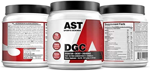 DGC – Fast Muscle Energy – Energizing Carbohydrate and Hydration Formula for Sustained Energy and Maximum Performance, Enhanced Focus and Rapid Recovery – AST Sports Science