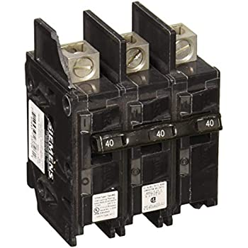 Siemens BQ3B045L 45-Amp Three Pole 240-Volt 10KAIC Lug In//Lug Out Breaker Siemens HI