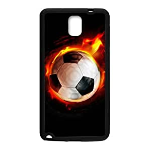Fire Football Custom Protective Hard Phone Cae For Samsung Galaxy Note3