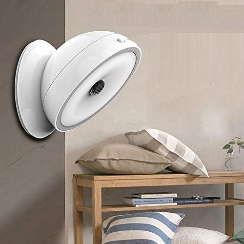 GLXQIJ LED-Bewegungsmelder-Nachtlicht, Tragbares Schnurloses Magnetisches Entfernbares Element, 360 ° -Drehung, Schrank, Schrank, Kleiderschrank, Schlafzimmer, Badezimmer, Flur,White,USBCharging