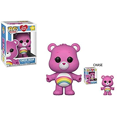 Funko POP! Animation: Care Bears Cheer Bear (Styles May Vary) Collectible Figure, Multicolor: Funko Pop! Animation:: Toys & Games