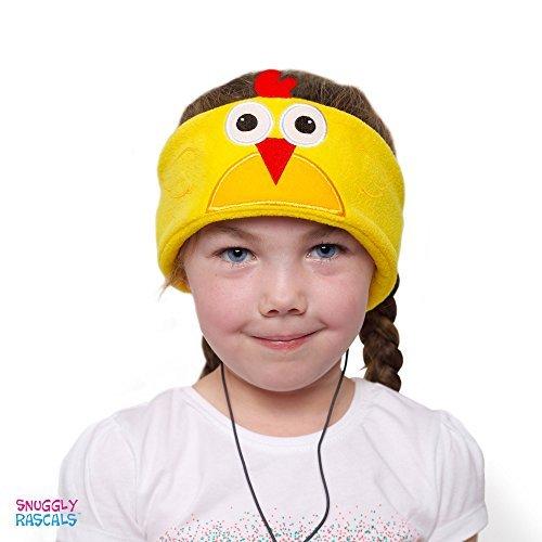 Snuggly Rascals Kids Headphones, Volume Limiting Over Ear Lightweight Toddler Headband Headphones for Children Boys or Girls suitable for iPhone, Smartphones or Tablets - ()