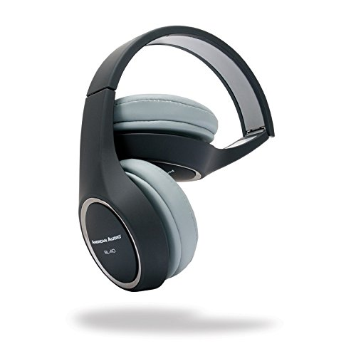ADJ Products DJ Headphones, Black, One Size (BL-40)