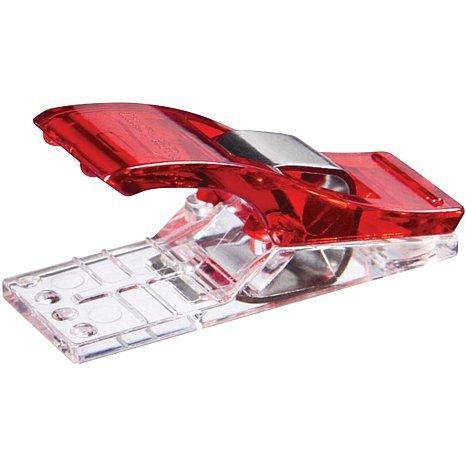 Set de 50 pinzas de costura, color rojo, para muchos usos: Amazon.es: Hogar