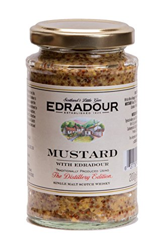 Mackays Edradour Malt Whisky Mustard, 7 Ounce