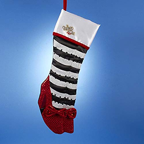 - Wizard of Oz Ruby Slippers Wicked Witch Legs Christmas Stocking OZ7141 New Adler
