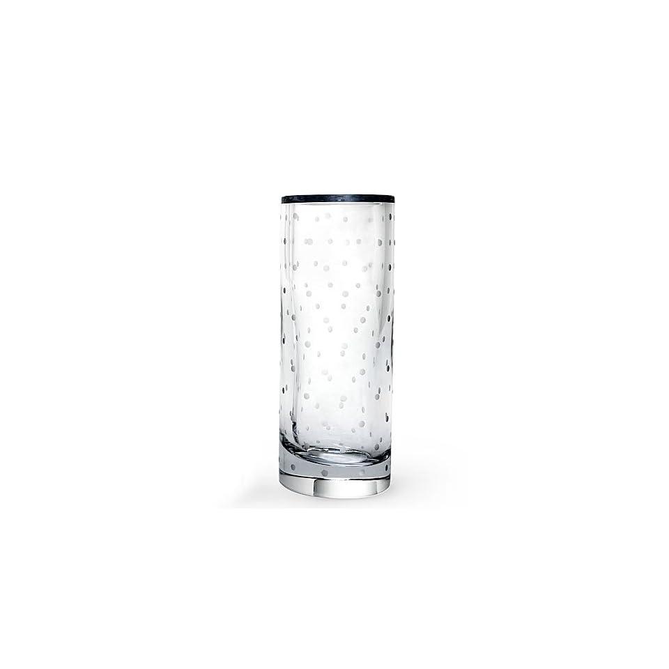 Lenox Kate Spade Larabee Dot Cylinder Vase 10.0