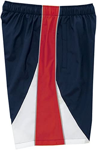 スイムウェア ユニセックス トレーニングクロス ハーフパンツ N2JD902186 サイズ:M N2JD9021 86:ドレスネイビー×チャイニーズレッド