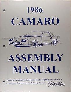 1986 1987 chevrolet camaro 2 vol factory repair shop service rh amazon com 1992 Camaro 1990 Camaro