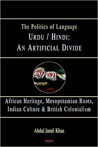 Amazon com: Urdu/Hindi: An Artificial Divide (HC) (9780875864389