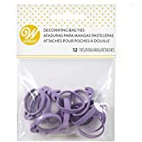 Wilton Icing Bag Ties, 12-Count - Rubber Icing