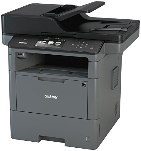 Brother Monochrome Laser Printer, Multifunction Printer, All-in-One Printer, MFC-L6800DW, Wireless Networking, Mobile Printing & Scanning, Duplex Print & Scan & Copy, Amazon Dash Replenishment Enabled