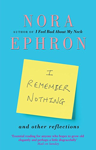 Book I Remember Nothing and Other Reflections [R.A.R]