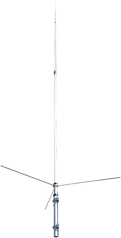 Base-Antenna Omnidirectional UHF VHF Amateur Dual-Band Base Antenna with 17 ft